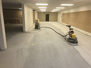 ct commercial-polished concrete floor installer