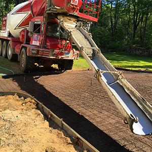 new concrete installation ct